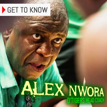Alex Nwora, D'Tigers Head Coach